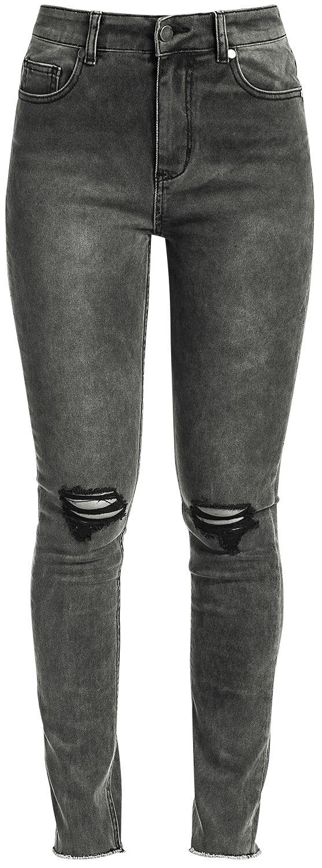 Image of   Fashion Victim High Waist Jeans Girlie jeans grå