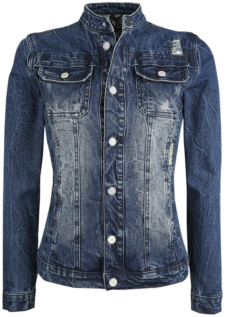Image of   Full Volume by EMP Ladies Jeans Jacket Girlie jakke blå