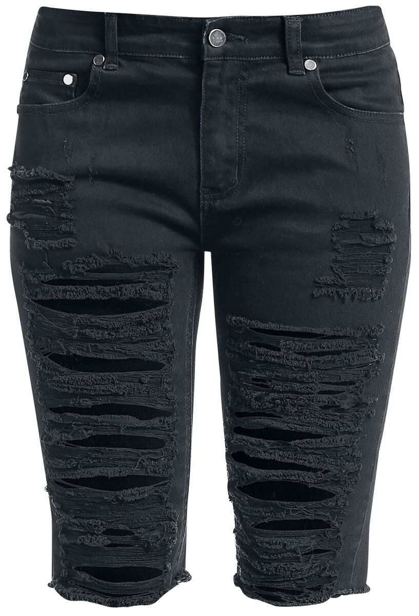 Image of   Fashion Victim Destroyed Shorts Girlie shorts sort