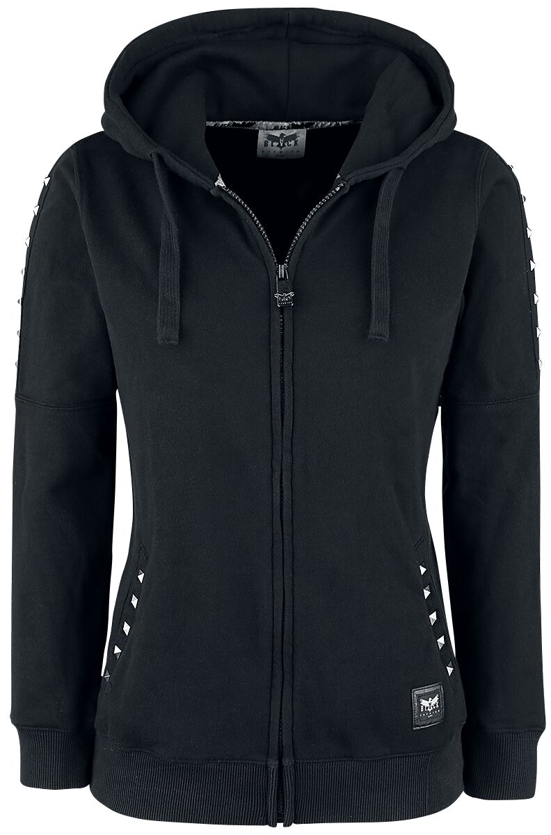 Black Premium by EMP Freaking Out Loud Chaqueta con capucha Mujer Negro