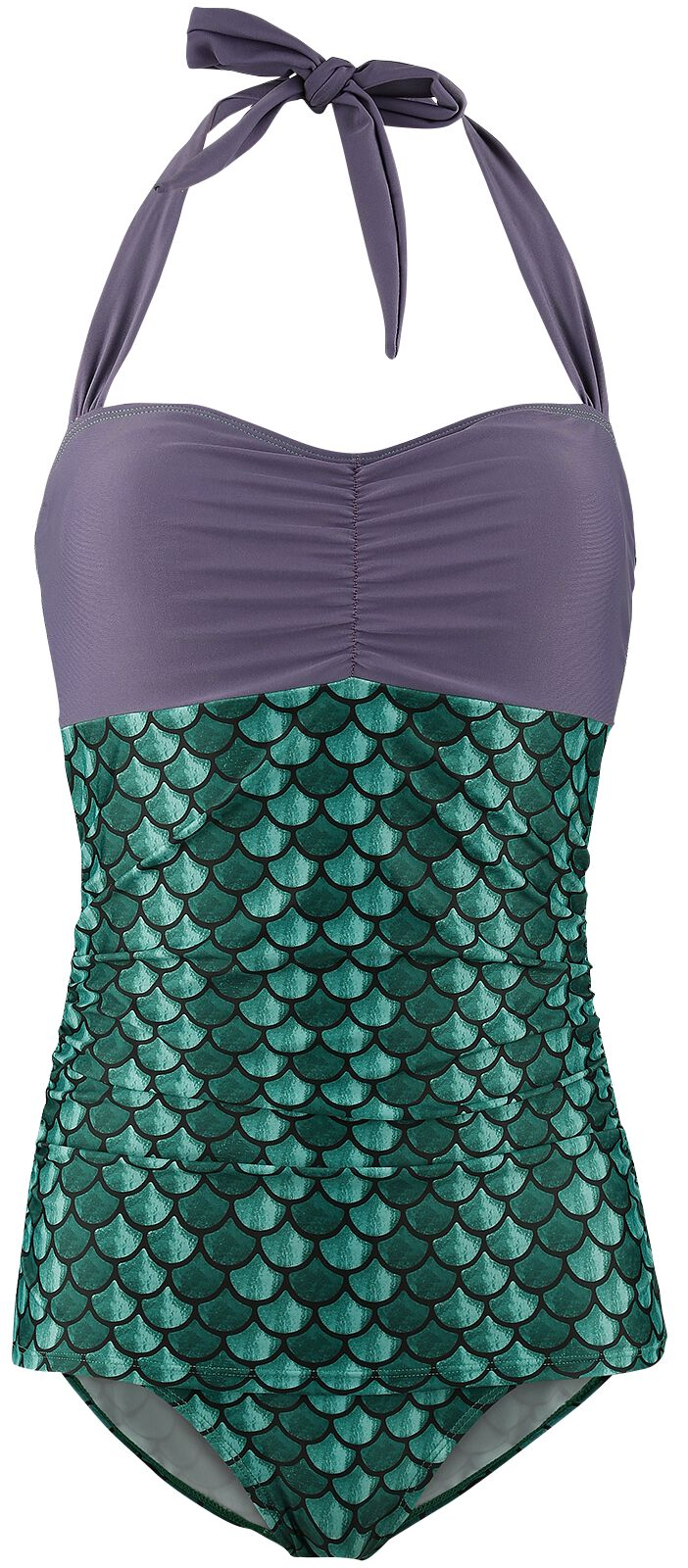 Merch dla Fanów - Odzież kąpielowa - Kostium kąpielowy Ariel - Mała Syrenka Costume Swimsuit Kostium kąpielowy wielokolorowy - 342856