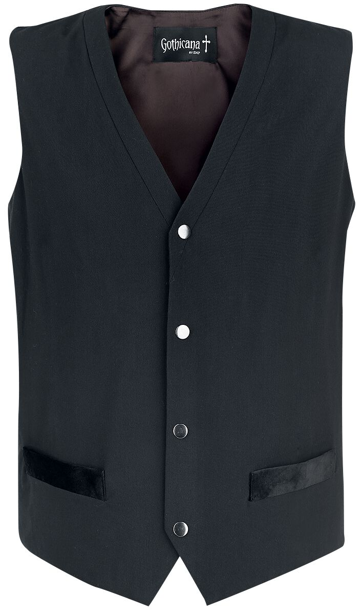 Image of   Gothicana by EMP Into The Night Vest sort