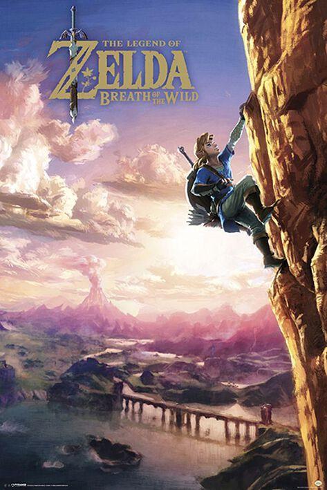 Image of   The Legend Of Zelda Breath Of The Wild Plakat Standard