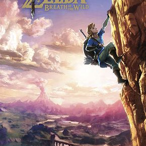 The Legend Of Zelda Breath Of The Wild Poster Standard