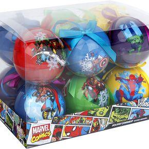 Marvel Set of 12 baubles Boule de Noël noir
