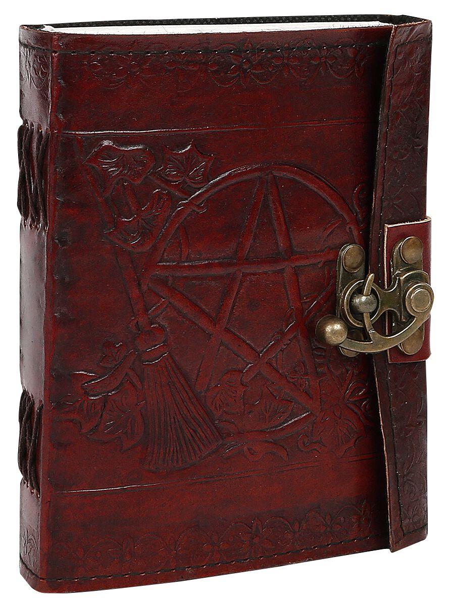 Image of   Nemesis Now Pentagram Notesbog rød
