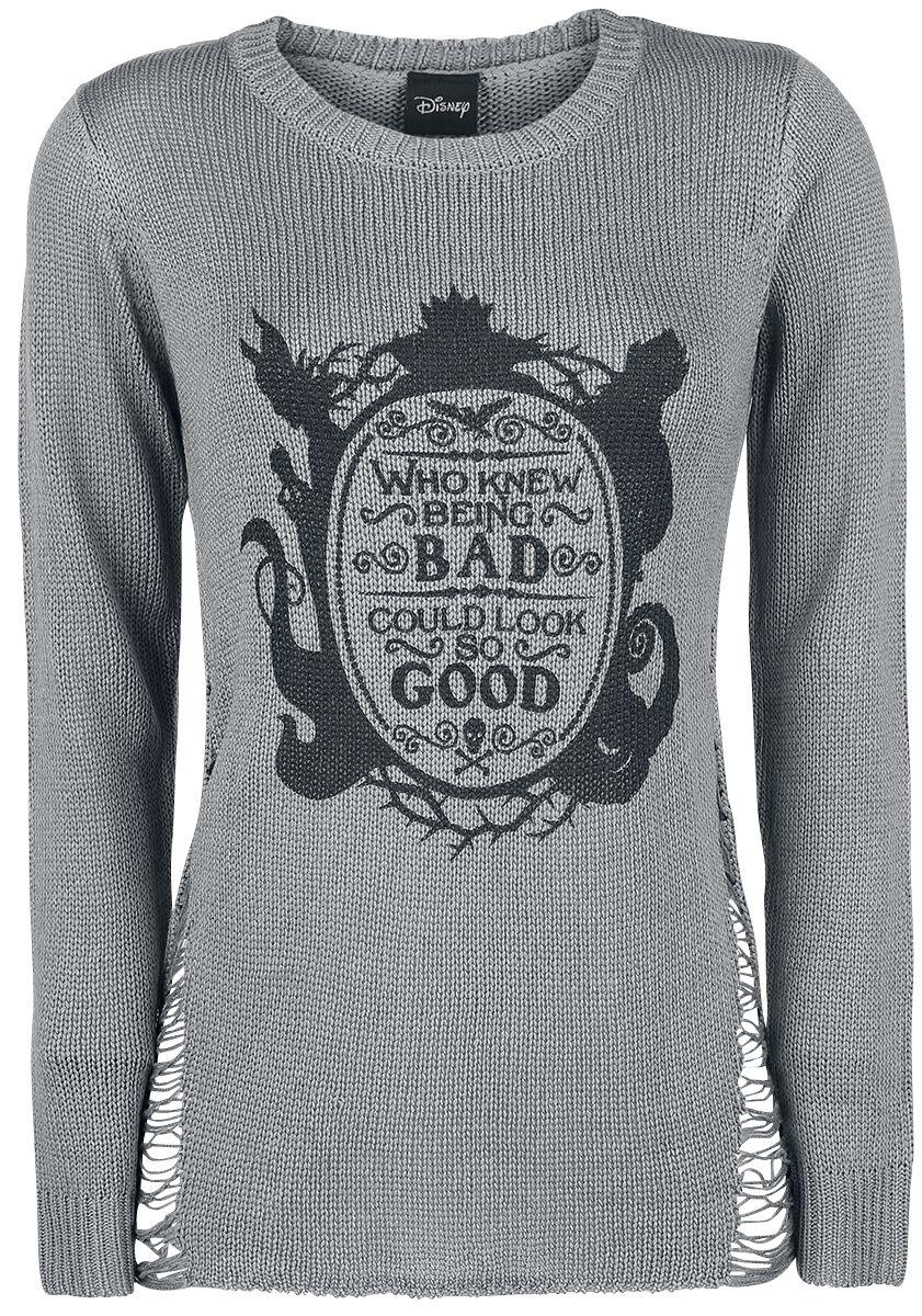 Merch dla Fanów - Bluzy - Sweter damski Disney Villains Mirror Sweter damski szary - 343089