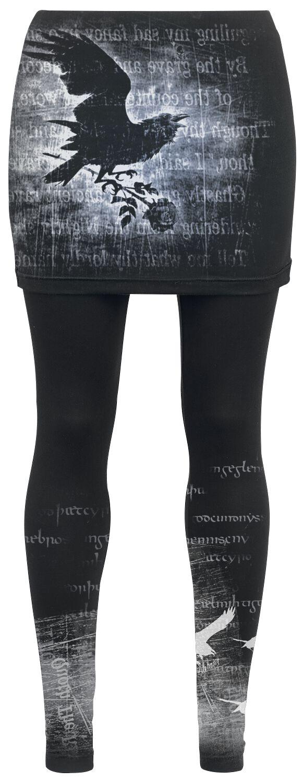 Image of   Alchemy England Nevermore Leggings sort