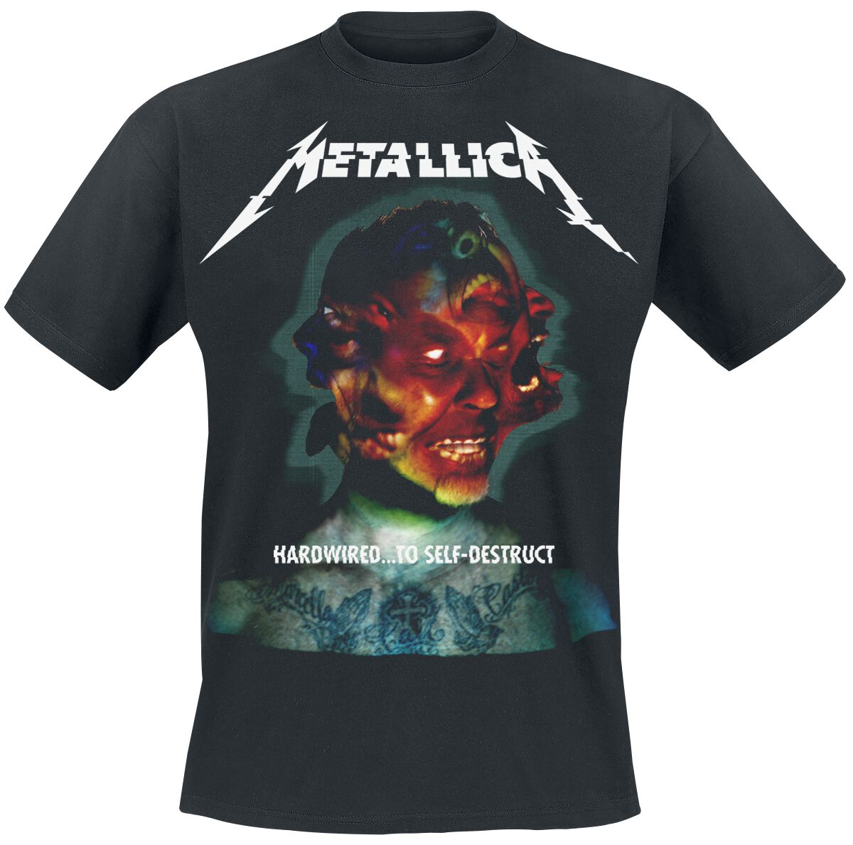 Image of   Metallica Hardwired...To Self-Destruct T-Shirt sort