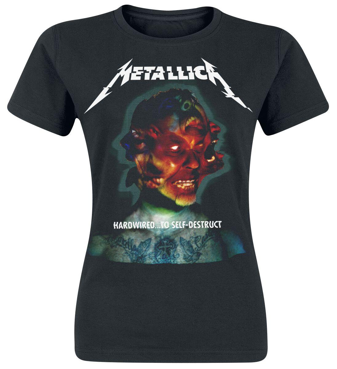 Metallica Hardwired...To Self-Destruct - Frauen - schwarz