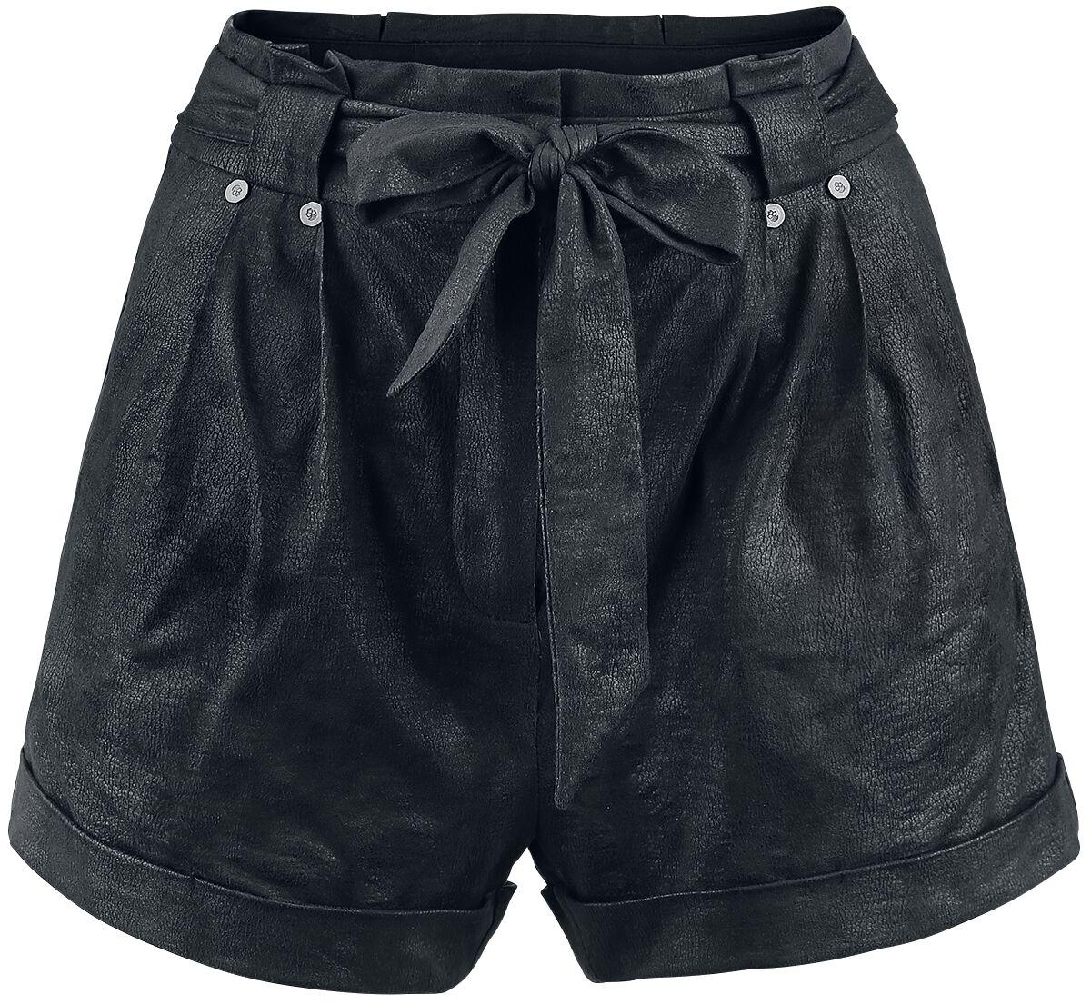 Hosen für Frauen - Rock Rebel by EMP End Of Summer Girl Shorts schwarz  - Onlineshop EMP