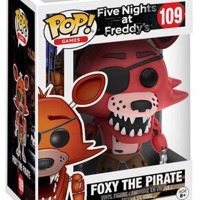 Figurine Foxy Le Pirate Five Nights at Freddy's Funko Pop!