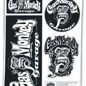 Gas Monkey Garage Autocollant Autocollant Standard