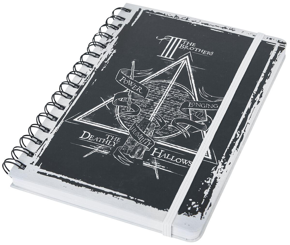 Image of   Harry Potter Deathly Hallows Notesbog Standard