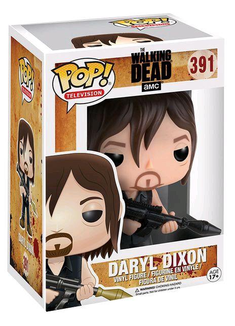 Image of   The Walking Dead Daryl Dixon With Rocket Launcher Vinyl Figure 391 Samlefigur Standard