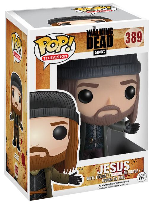 Image of   The Walking Dead Jesus Vinyl Figure 389 Samlefigur Standard