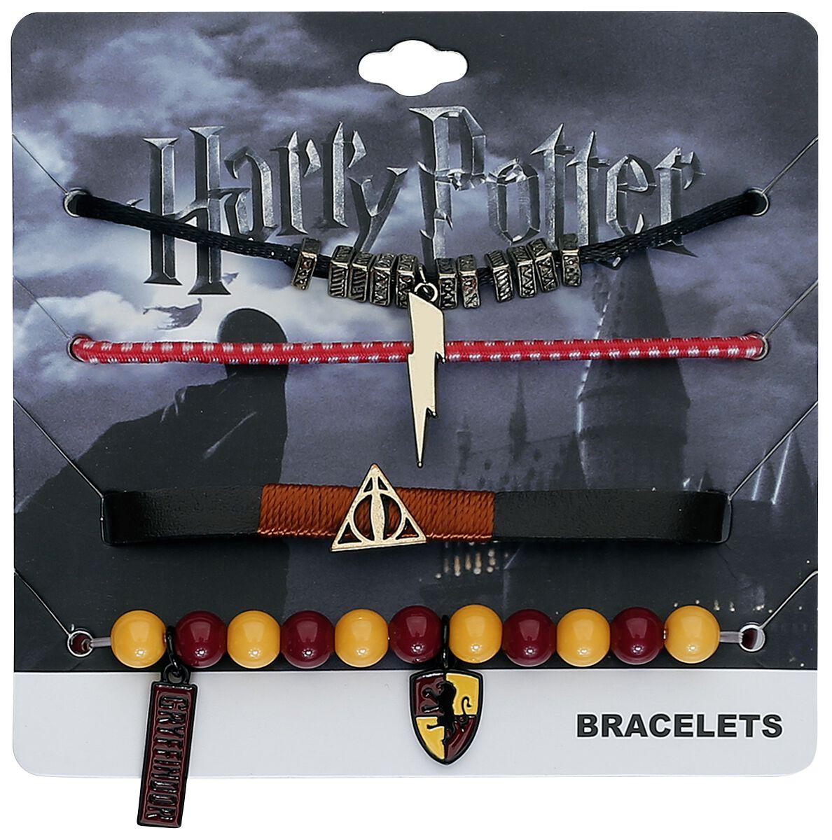 Image of   Harry Potter Gryffindor Armbånd, sæt Standard