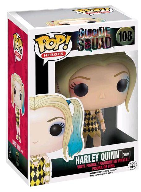 Image of   Suicide Squad Harley Quinn (Gown) Vinyl Figure 108 Samlefigur Standard