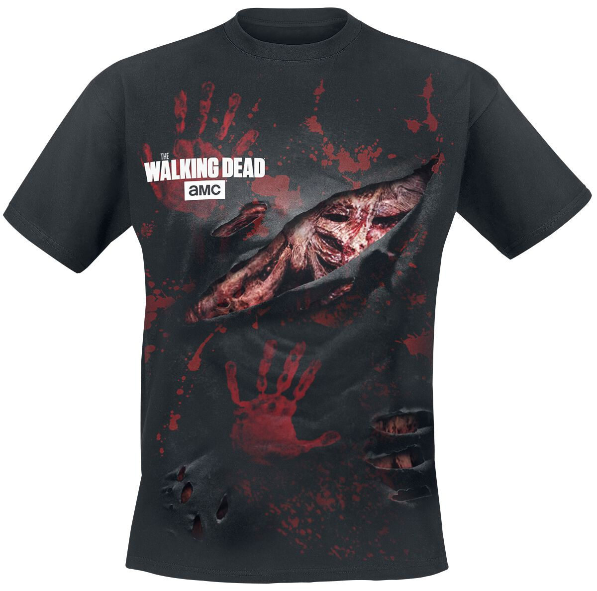 Image of   The Walking Dead Zombie - All Infected T-Shirt sort