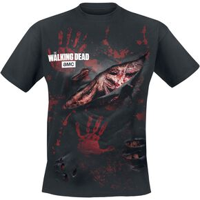 The Walking Dead Zombie - All Infected T-shirt noir