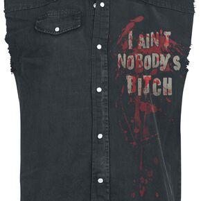 The Walking Dead Daryl Dixon - Ailes Veste sans manches anthracite