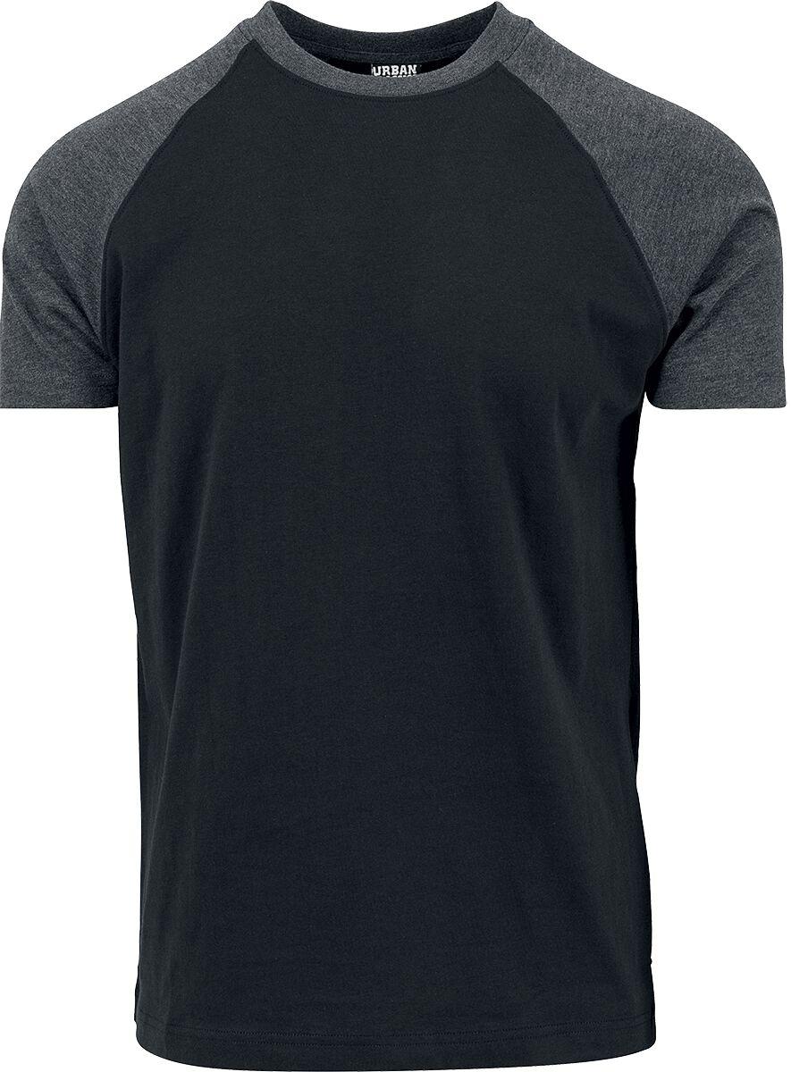 Image of   Urban Classics Raglan Contrast Tee T-Shirt sort-koks