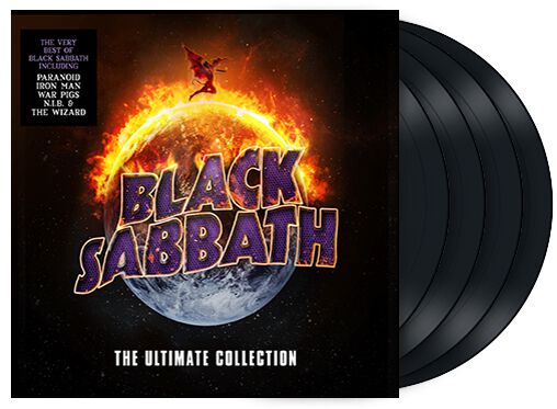 Image of   Black Sabbath The ultimate collection 4-LP standard