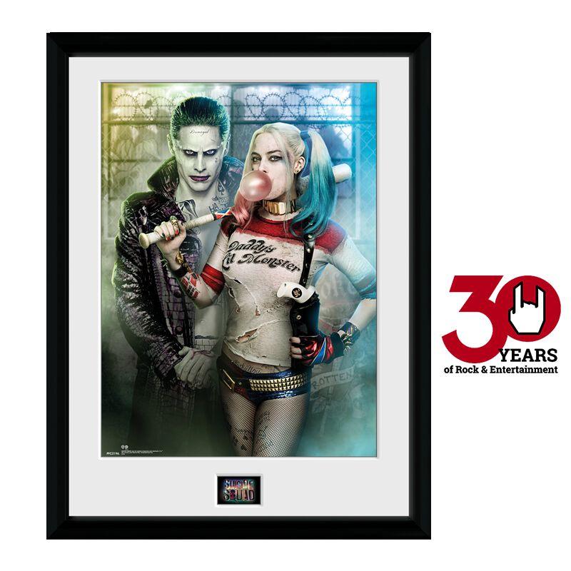 Image of   Suicide Squad Joker & Harley Quinn Indrammet billede Standard