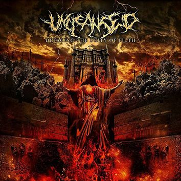 Image of   Uncleansed Defacing the deity of filth CD Standard