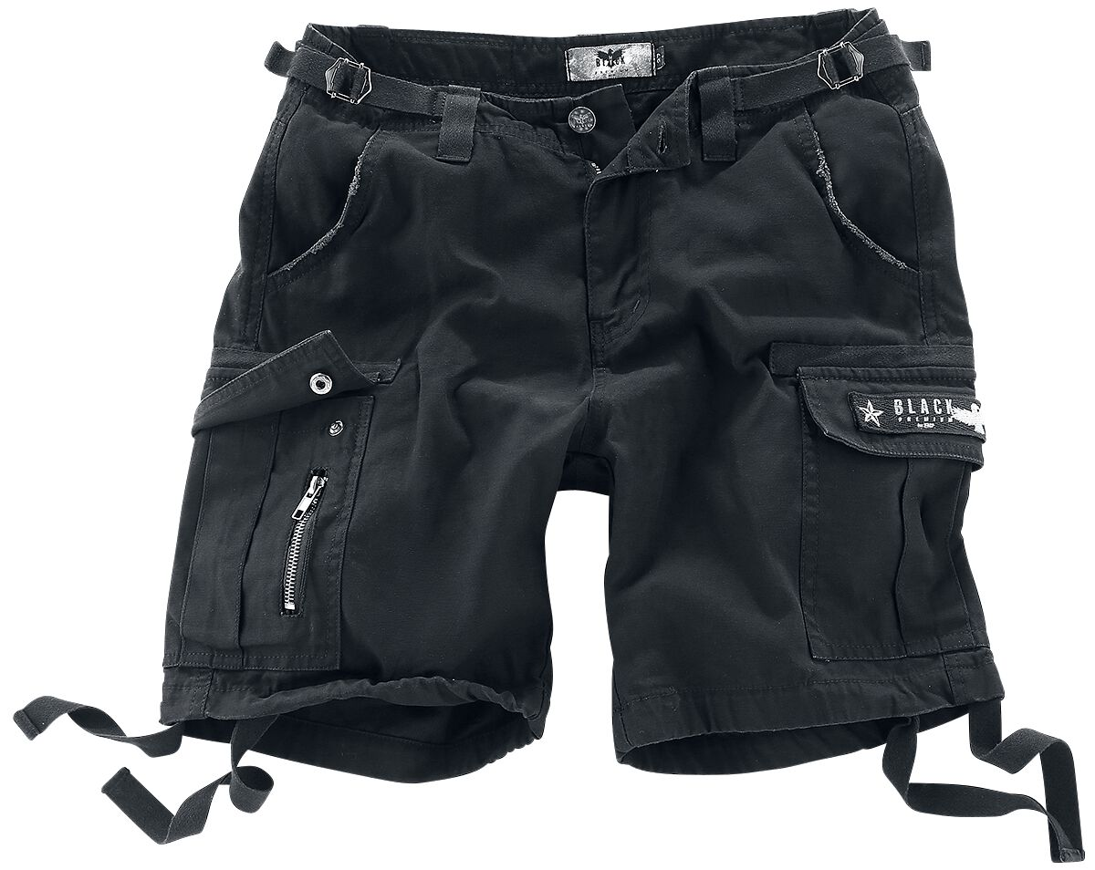 Image of   Black Premium by EMP Army Vintage Shorts Girlie shorts sort
