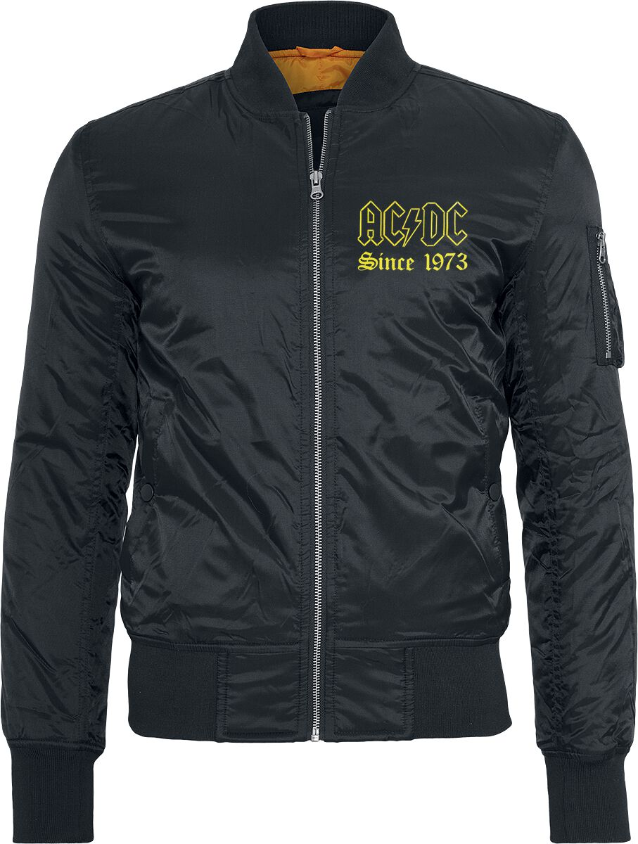 AC/DC Let There Be Rock Jacke schwarz