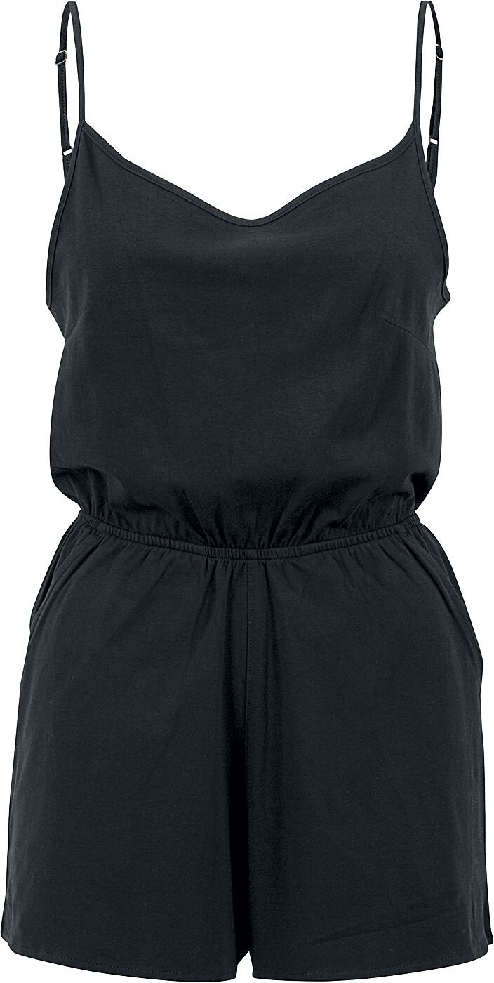 Image of   Urban Classics Ladies Short Spaghetti Jumpsuit Jumpsuit sort