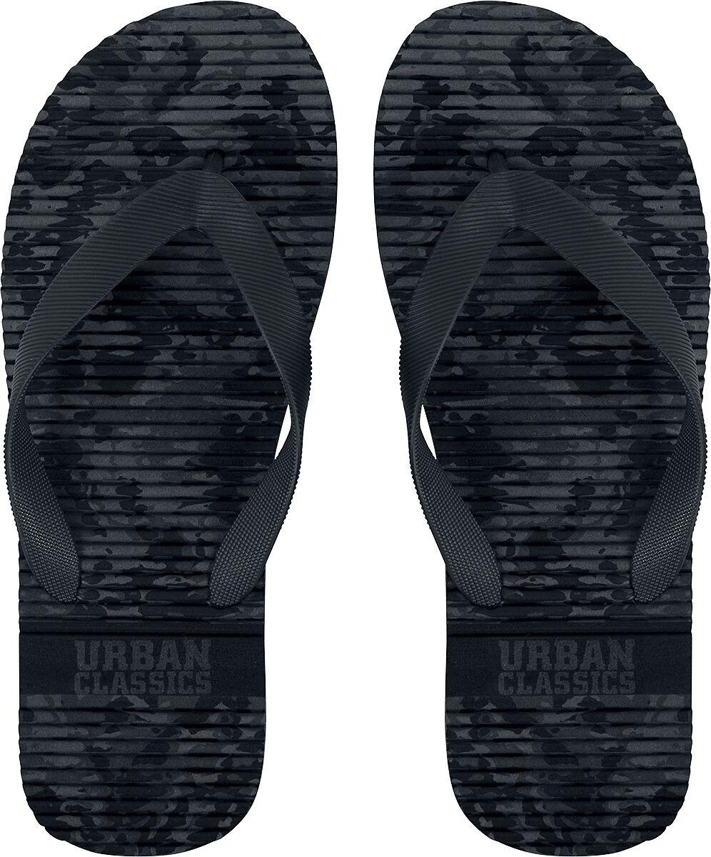 Image of   Urban Classics Basic Slipper Klip-klapper mørk camo
