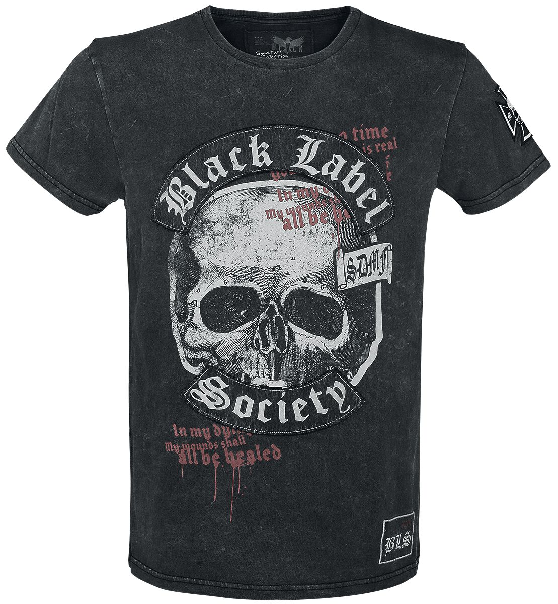 Marka własna - Koszulki - T-Shirt Black Label Society EMP Signature Collection T-Shirt szary - 344264