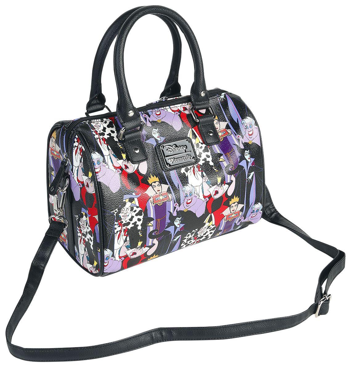 Merch dla Fanów - Torby i Plecaki - Torebka - Handbag Disney Villains Loungefly - Villains Torebka - Handbag wielokolorowy - 344303