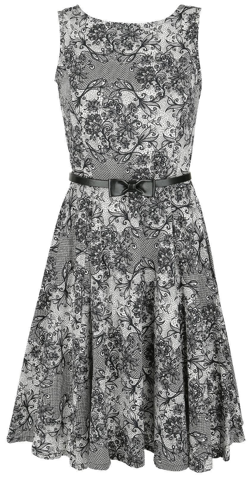 Marki - Sukienki - Sukienka Rockabella Rachel Dress Sukienka czarny/biały - 344399