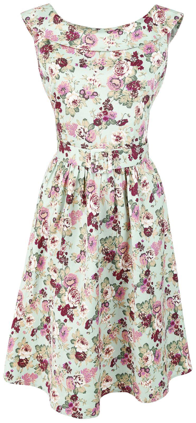 Marki - Sukienki - Sukienka Dolly and Dotty Cindy Sassy Floral Swing Vintage Dress Sukienka wielokolorowy - 344423
