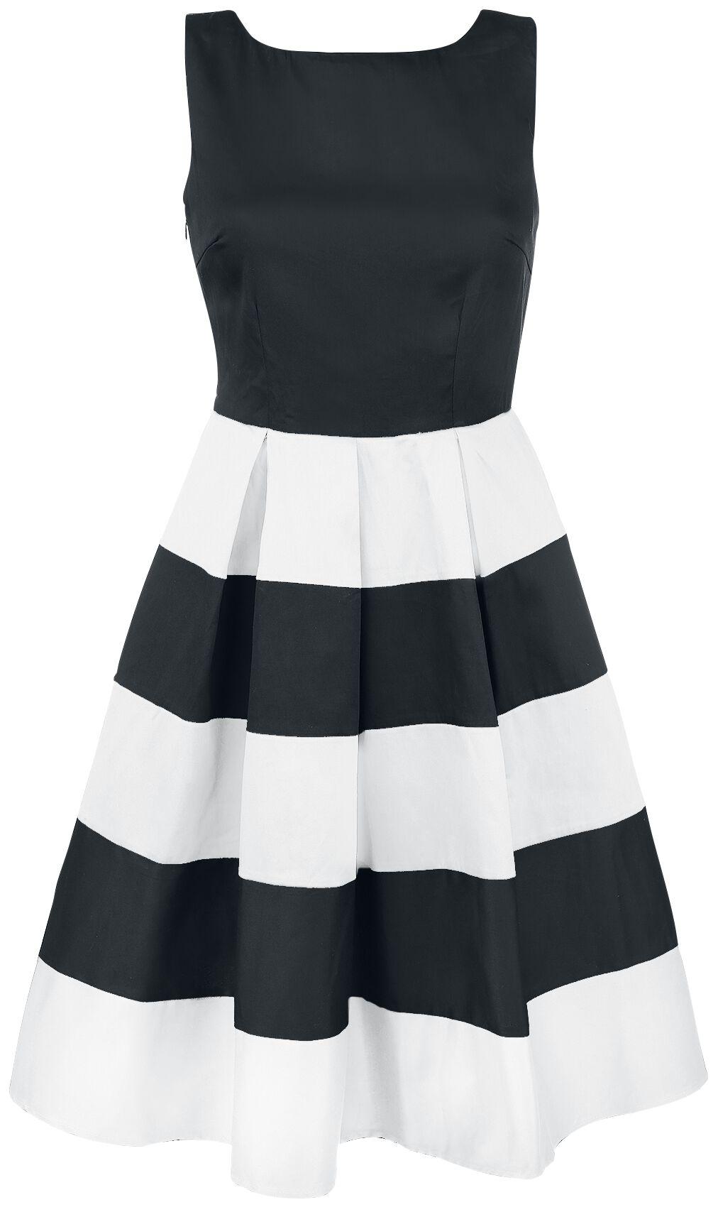 Marki - Sukienki - Sukienka Dolly and Dotty Anna Adorable Striped Swing Dress Sukienka czarny/biały - 344425