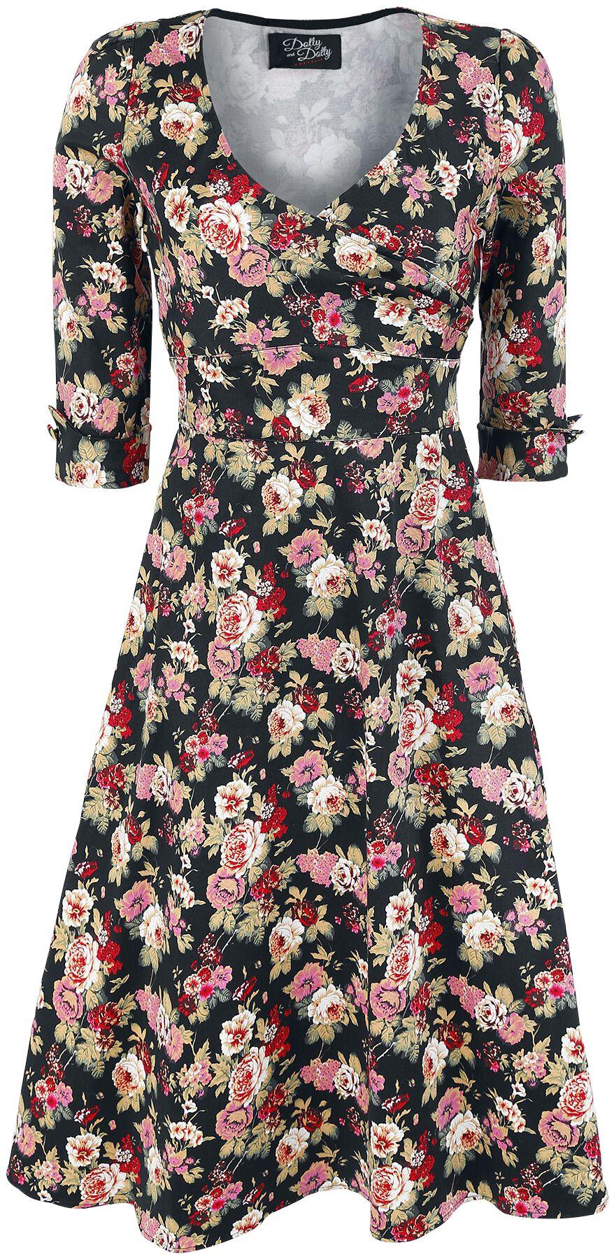 Marki - Sukienki - Sukienka Dolly and Dotty Glam Rose Dress Sukienka wielokolorowy - 344426