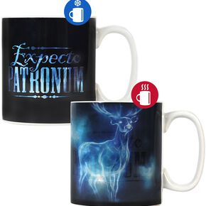Harry Potter Expecto Patronum - Heat-Change Mug Mug noir