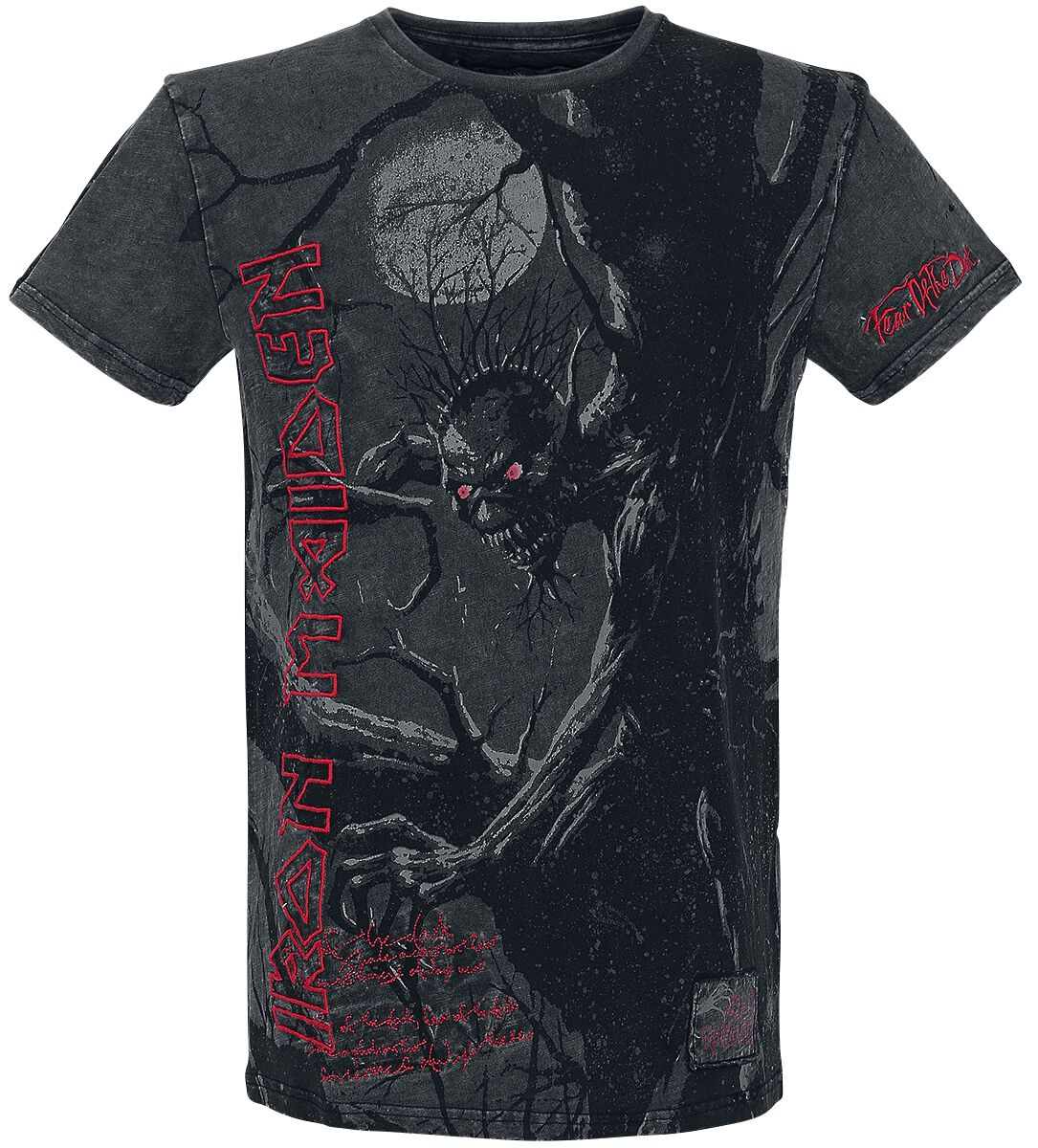 Image of   Iron Maiden EMP Signature Collection T-Shirt sort