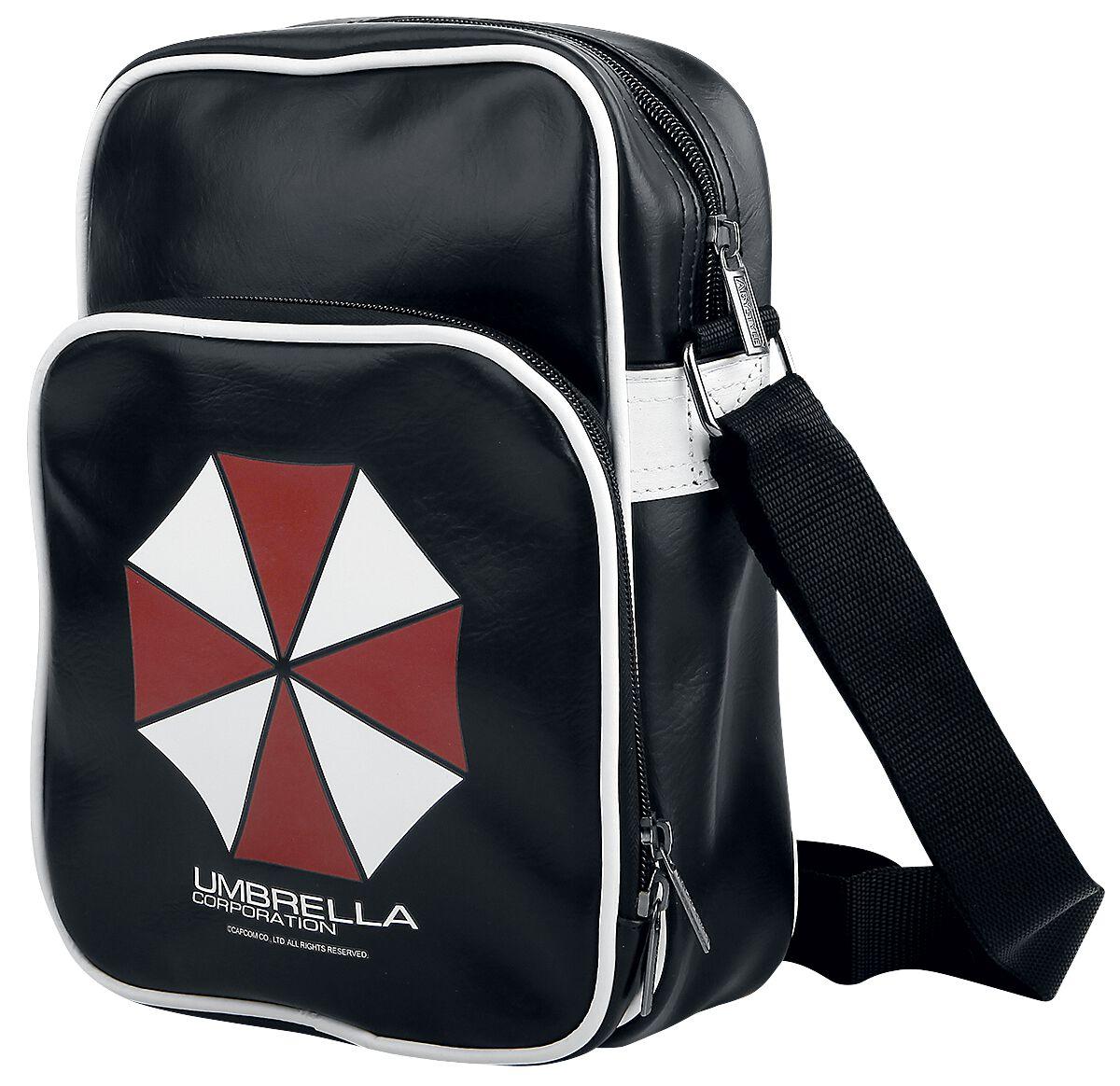Merch dla Fanów - Torby i Plecaki - Torba na ramię Resident Evil Umbrella Torba na ramię czarny - 344637