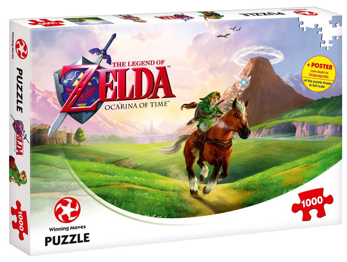 Image of   The Legend Of Zelda Ocarina Of Time (1000 brikker) Puslespil & samlesæt standard
