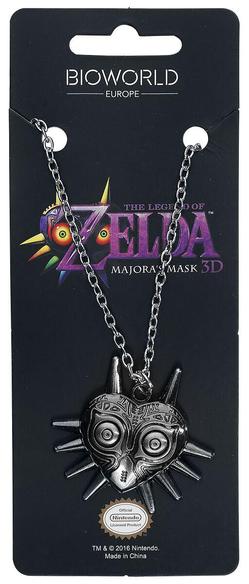 Image of   The Legend Of Zelda Majora's Mask Halskæde sølvfarvet