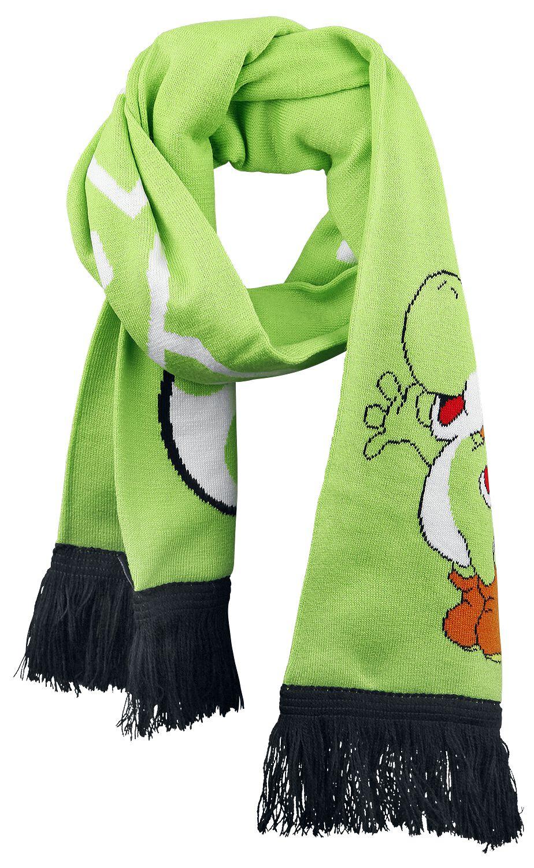 Image of   Super Mario Yoshi Halstørklæde grøn