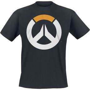 Overwatch Icon T-shirt noir