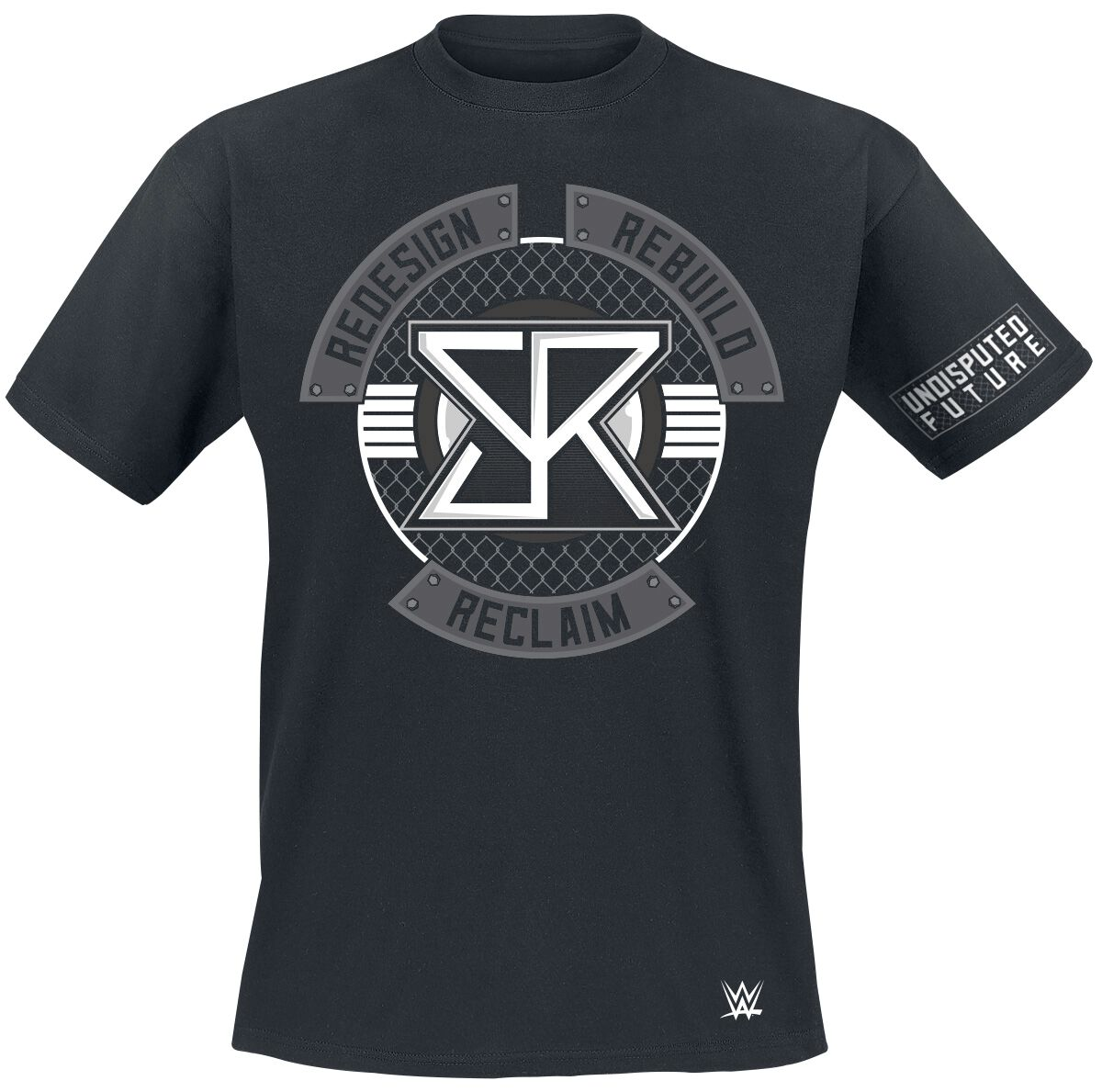 Merch dla Fanów - Koszulki - T-Shirt WWE Seth Rollins T-Shirt czarny - 344947