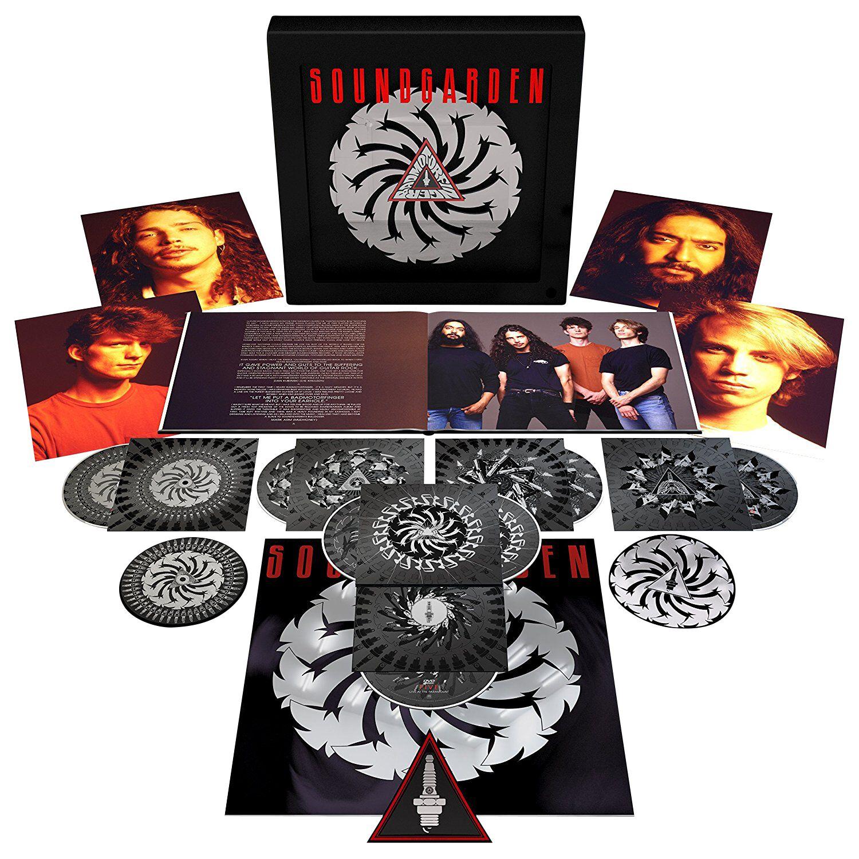 Image of Soundgarden Badmotorfinger 4-CD & 2-DVD & Blu-ray Standard