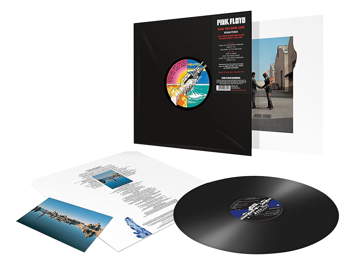 Image of   Pink Floyd Wish you were here LP Standard