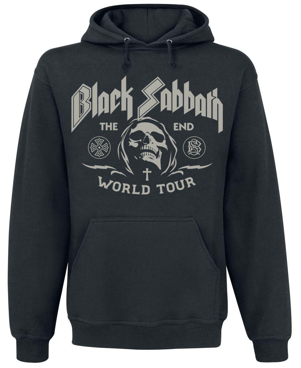 Zespoły - Bluzy z kapturem - Bluza z kapturem Black Sabbath The End Grim Reaper Bluza z kapturem czarny - 345078